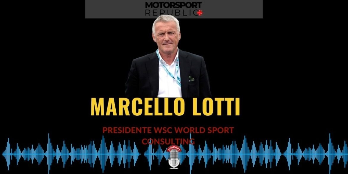 Cover podcast puntata con Marcello Lotti