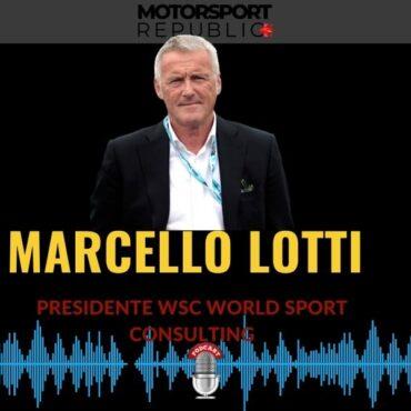 Cover podcast puntata con Marcello Lotti