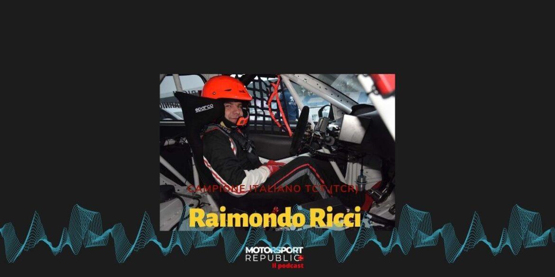 Copertina podcast puntata con Raimondo Ricci