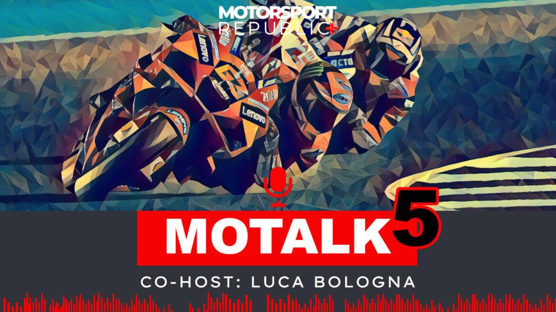 Copertina puntata 5 della serie Motalk